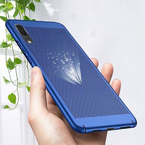 Кейс для Назначение Huawei P20 lite / P20 Pro Ультратонкий Кейс на заднюю панель Однотонный Твердый ПК для Huawei P20 lite / Huawei P20 кейс для назначение huawei p20 pro p20 lite матовое кейс на заднюю панель однотонный твердый пк для huawei p20 huawei p20 pro huawei p20 lite