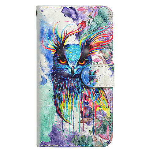 Case For Samsung Galaxy J5 (2017) / J3 (2017) Wallet / Card Holder / with Stand Full Body Cases Owl Hard PU Leather for J7 (2017) / J6 / J5 (2017)