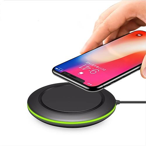 Беспроводное зарядное устройство Зарядное устройство USB Универсальный с кабелем / QC 3.0 / Беспроводное зарядное устройство 1 USB порт 2 A / 1 A DC 9V / DC 5V iPhone X / iPhone 8 Pluss / iPhone 8 zus qc