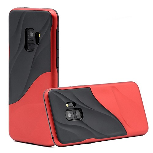 Case For Samsung Galaxy S9 Plus / S9 Shockproof Back Cover Lines / Waves Soft TPU for S9 / S9 Plus / S8 Plus