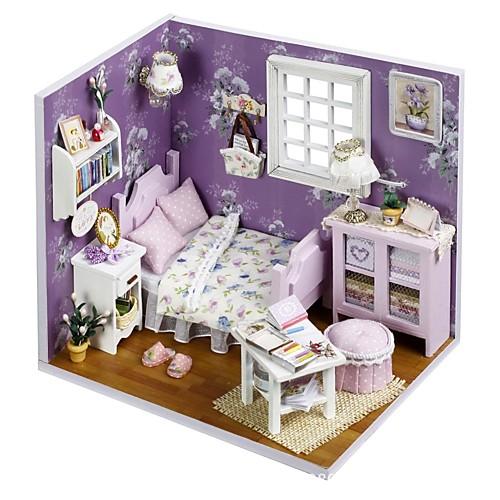 Кукольный домик со светодиодной подсветкой Романтика 1 pcs Куски Для подростков Подарок