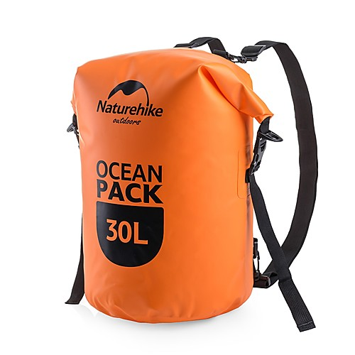 Naturehike 30 L Водонепроницаемый сухой мешок Дожденепроницаемый, Учебный, Пригодно для носки для Плавание / Дайвинг / Серфинг