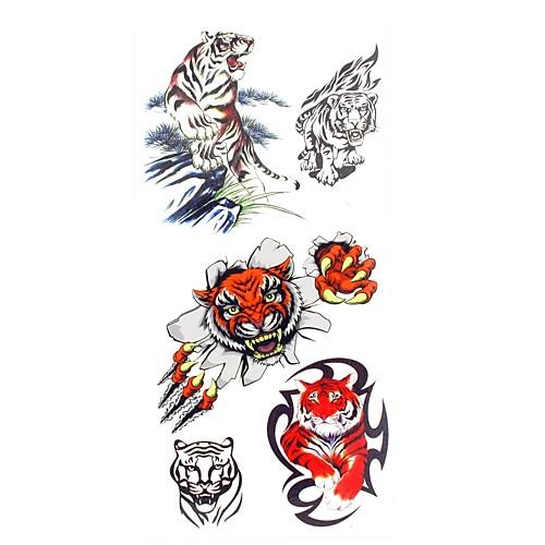 1 pcs Временные тату Временные татуировки Тату с животными Искусство тела руки / рука / запястье