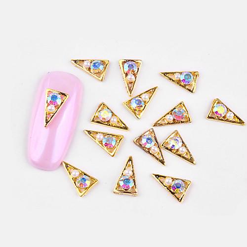 10 pcs Стиль / Инкрустация камнями и кристаллами Украшения для ногтей Модный дизайн Дизайн ногтей