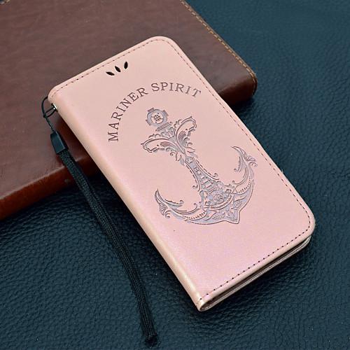 Кейс для Назначение Huawei Y9 (2018)(Enjoy 8 Plus) / Y6 (2018) Кошелек / Бумажник для карт / Флип Чехол Слова / выражения Твердый Кожа PU для Y9 (2018)(Enjoy 8 Plus) / Huawei Y7(Nova Lite) / Huawei чехол для сотового телефона huawei nova lite translucent black 51992091