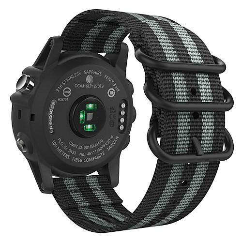 Ремешок для часов для Fenix 5x / Fenix 3 HR / Fenix 3 Garmin Спортивный ремешок Нейлон Повязка на запястье fenix 21 mianmo