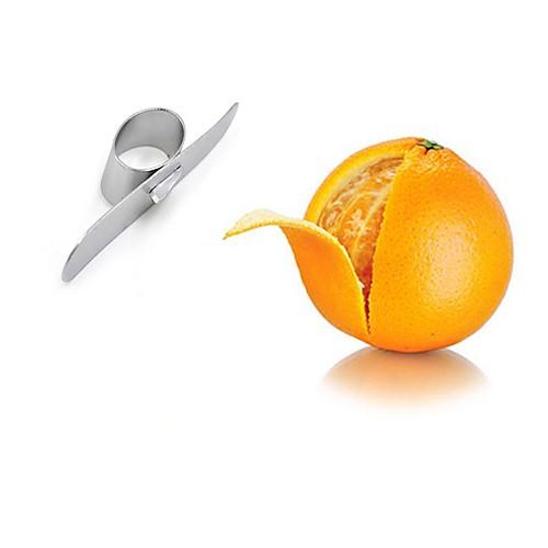 Кухонные принадлежности Нержавеющая сталь Для фруктов и овощей Творческая кухня Гаджет Для фруктов и овощей / Овощные ножи Оранжевый 1шт