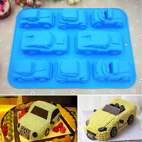 Инструменты для выпечки Силикон 3D в мультяшном стиле / Своими руками Торты / Печенье / Шоколад Формы для пирожных / Формы для нарезки печенья / Десертные инструменты 1шт цена