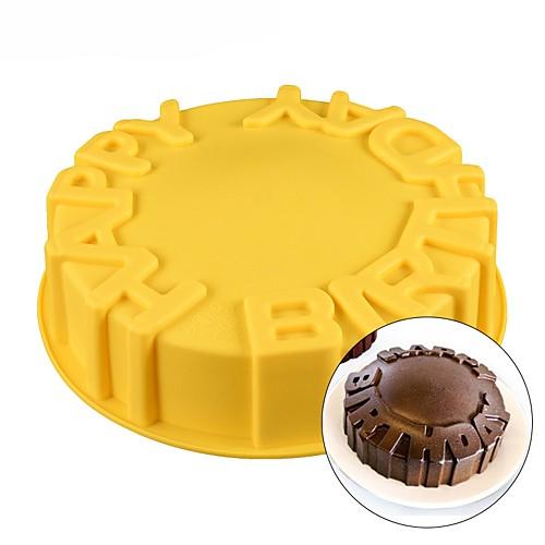Инструменты для выпечки Силикон День рождения / Своими руками Печенье / Шоколад / Для торта Формы для пирожных / Десертные инструменты 1шт