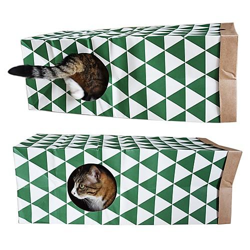 Плюшевые игрушки Подходит для домашних животных / Простая установка / Декомпрессионные игрушки Искусственная кожа Назначение Коты
