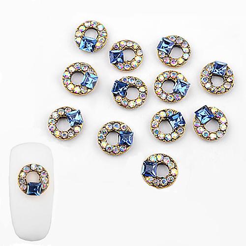10 pcs Инкрустация камнями и кристаллами Украшения для ногтей Модный дизайн Дизайн ногтей
