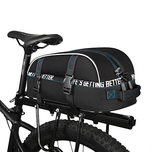 ROSWHEEL 8 L Сумки на багажник велосипеда Водонепроницаемость, Дожденепроницаемый, Многослойный Велосумка/бардачок 600D полиэстер Велосумка/бардачок Велосумка Велосипедный спорт / Велоспорт