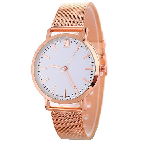 Xu™ Жен. Наручные часы Китайский Творчество / Cool / Крупный циферблат сплав Группа Мода / минималист Черный / Серебристый металл /