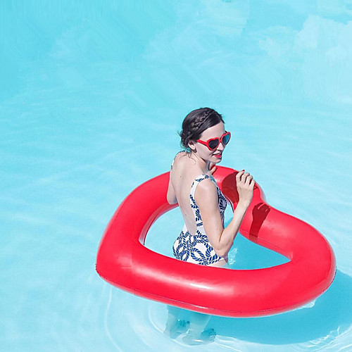 Heart Shape Надувные игрушки и бассейны PVC Прочный, Надувной Плавание / Водные виды спорта для Взрослые 11090 cm надувные бассейны