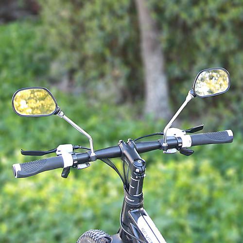 Зеркало велосипеда Handlerbar Регулируется / Выдвижной Шоссейные велосипеды / Велоспорт стекло / ABS Черный - 2 pcs зеркало для велосипеда