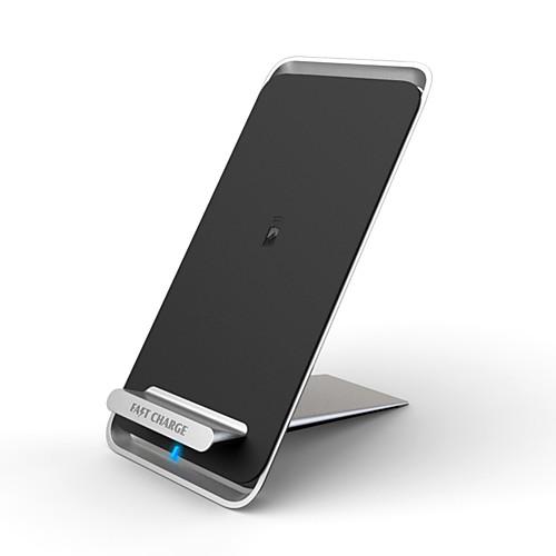Беспроводное зарядное устройство Зарядное устройство USB Универсальный Беспроводное зарядное устройство 1 A DC 9V iPhone X / iPhone 8 Pluss / iPhone 8