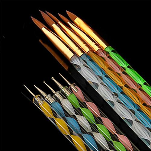 10 шт. маникюр Инструменты для ногтей / Пена для ногтей Профессиональный / Универсальная Модный дизайн / Разные цвета / обожаемый Свадьба / Вечерние / Повседневные