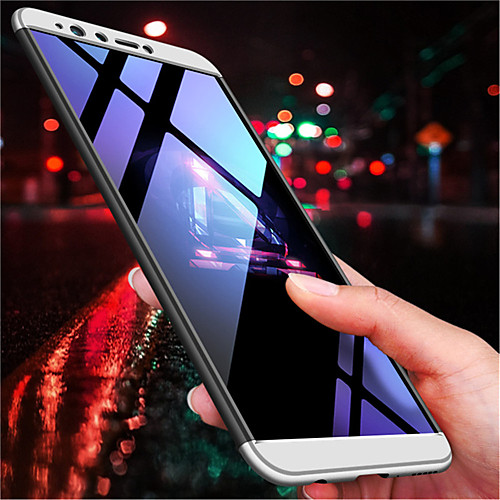 Кейс для Назначение Huawei Y9 (2018)(Enjoy 8 Plus) / Y7 Prime (2018) Матовое Кейс на заднюю панель Однотонный Твердый ПК для Y9 ocube genuine leather case crocodile pattern folio flip wallet cover case for iphone 7 8 4 7 inch