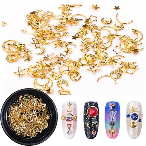 1 pcs Украшения для ногтей Роскошь / Bling Bling Модный дизайн / Цветной На каждый день Формы для ногтей