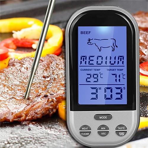 Кухонные принадлежности ABS Измерительные инструменты / Мясорубки Измерительный прибор / Многофункциональные / Цифровой ЖК-дисплей Themometer измерительный прибор ketech prct200