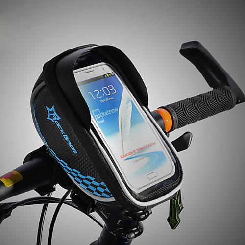 все цены на ROCKBROS Сотовый телефон сумка / Бардачок на раму Сенсорный экран, Водонепроницаемость, Легкость Велосумка/бардачок ТПУ / Этиленвинилацетат / Полиэстер Велосумка/бардачок Велосумка Велосипедный спорт онлайн