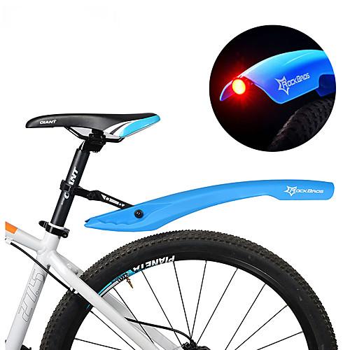 Велосипедные крылья Горный велосипед Регулируется / Светодиодные фонарики / Выдвижной Пластик - 2 pcs Красный / Зеленый / Синий