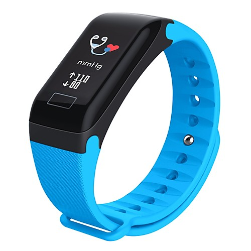 R3C Smartwatch Android iOS Bluetooth Waterproof Heart Rate Monitor Blood Pressure Measurement Touch Screen Pedometer Sleep Tracker Sedentary Reminder Alarm Clock Chronograph / Long Standby / 120-150
