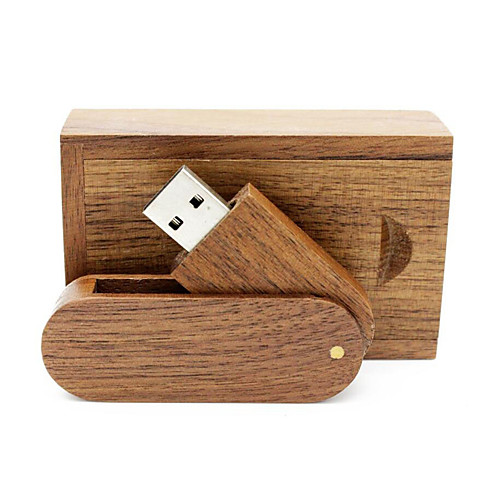 где купить Ants 16 Гб флешка диск USB USB 2.0 Дерево / Бамбук Вращающийся по лучшей цене