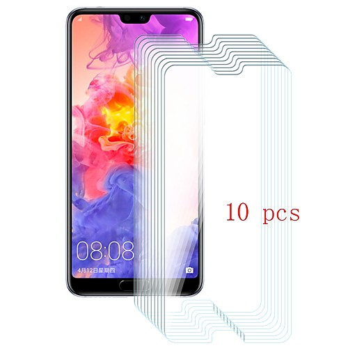 Защитная плёнка для экрана для Huawei Huawei P20 Pro Закаленное стекло 10 ед. Защитная пленка для экрана Уровень защиты 9H / Защита от царапин фото