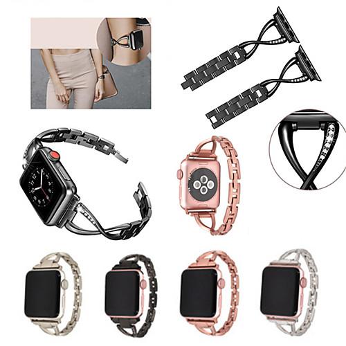 Ремешок для часов для Apple Watch Series 4/3/2/1 Apple Бабочка Пряжка Нержавеющая сталь Повязка на запястье фото