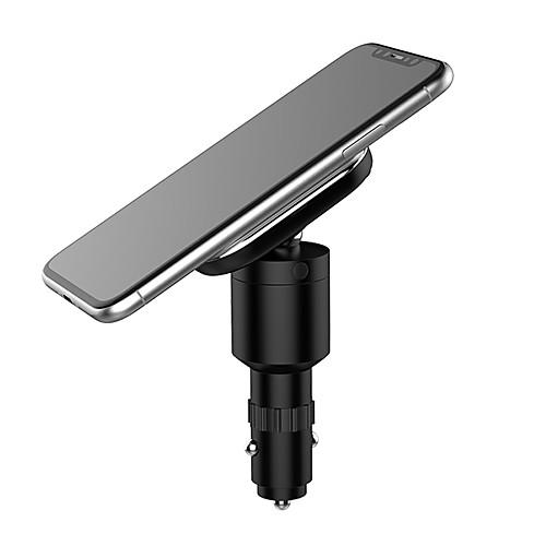Автомобильное зарядное устройство Зарядное устройство USB USB QC 3.0 / Qi 1 USB порт 1.1 A DC 9V iPhone X / iPhone 8 Pluss / S9 Plus zus qc