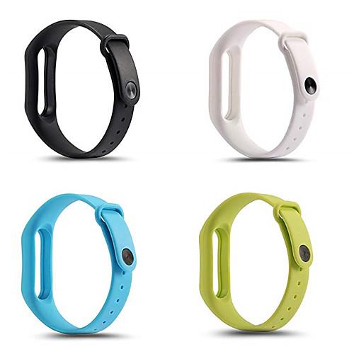 Ремешок для часов для Mi Band 2 Xiaomi Спортивный ремешок силиконовый Повязка на запястье фото