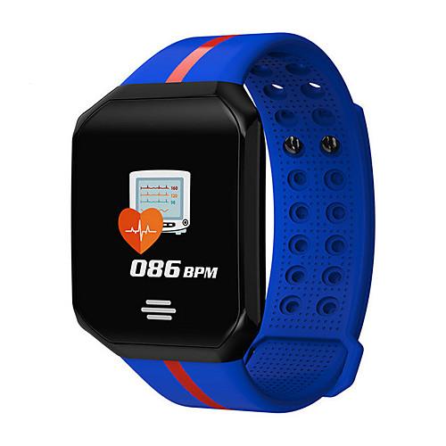 z66s Смарт Часы Android iOS Bluetooth Водонепроницаемый Пульсомер Измерение кровяного давления Сенсорный экран / Израсходовано калорий / Длительное время ожидания / Педометр / Напоминание о звонке
