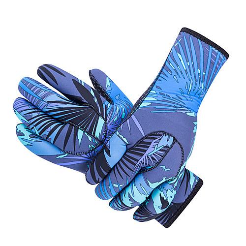 SBART Дайвинг Перчатки 3mm Нейлон / неопрен Полный палец Сохраняет тепло, Нескользящий, Защитный Дайвинг / Для погружения с трубкой