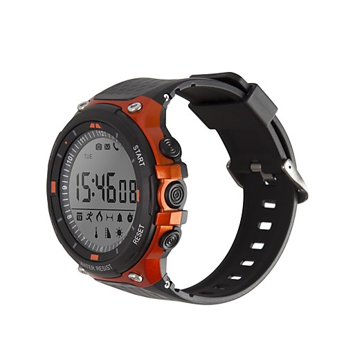 SMA D-Watch 01D Men Smartwatch Android iOS Bluetooth Waterproof Calories Burned Long Standby Creative New Design Stopwatch Pedometer Call Reminder Activity Tracker Sleep Tracker / Alarm Clock