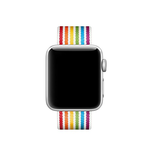 Ремешок для часов для Apple Watch Series 4/3/2/1 Apple Современная застежка Нейлон Повязка на запястье фото
