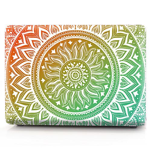 MacBook Кейс Мандала пластик для Новый MacBook Pro 15 / Новый MacBook Pro 13 / MacBook Pro, 15 дюймов
