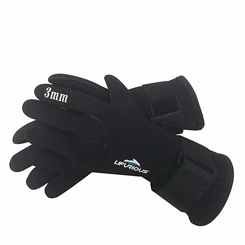 Дайвинг Перчатки 3mm неопрен Полный палец Сохраняет тепло, Пригодно для носки, Нескользящий Дайвинг / Водные виды спорта