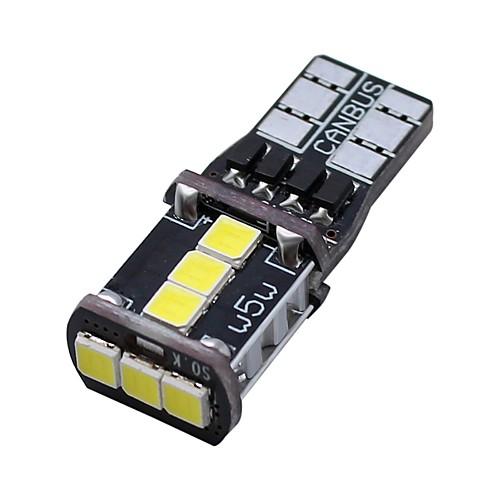 SO.K 2pcs T10 Car Light Bulbs 3 W SMD 3030 400 lm 9 LED Daytime Running Light For universal All years