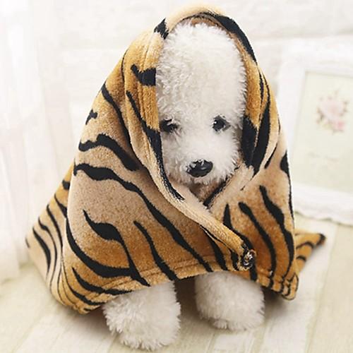 Компактность / Мини / Мягкий Одежда для собак Кровати / Полотенца Животное / Мода / Лолита полоса Грызуны / Собаки / Кролики грызуны