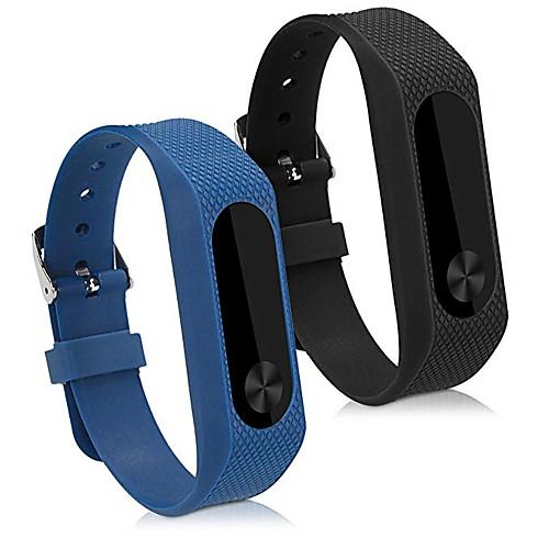 Watch Band for Mi Band 2 Xiaomi Sport Band Silicone Wrist Strap