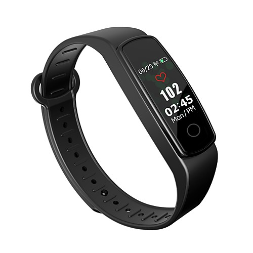 C19-SH Smart Bracelet Smartwatch Android iOS Bluetooth Waterproof Blood Pressure Measurement Touch Screen Calories Burned Pedometer Call Reminder Sleep Tracker Sedentary Reminder Find My Device