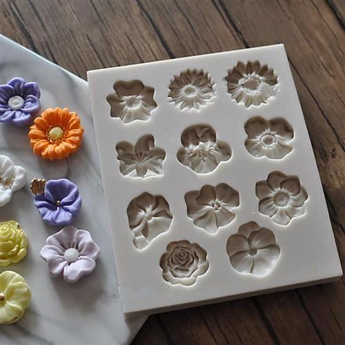 Инструменты для выпечки Силиконовый гель Своими руками Повседневное использование / Для приготовления пищи Посуда Квадратный Формы для пирожных 1шт коврик силиконовый для приготовления пищи