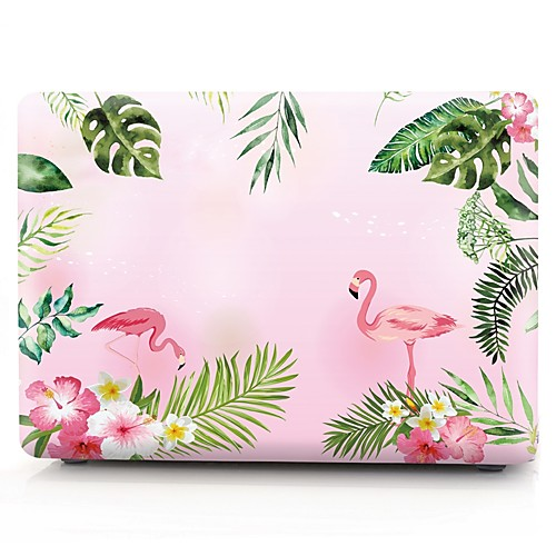 MacBook Кейс Фламинго пластик для Новый MacBook Pro 15 / Новый MacBook Pro 13 / MacBook Pro, 15 дюймов 12 дюймов