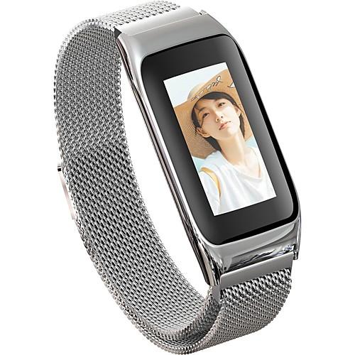 JSBP B42 Женский Умный браслет Android iOS Bluetooth Водонепроницаемый Пульсомер Измерение кровяного давления Сенсорный экран Израсходовано калорий / Датчик для отслеживания активности / будильник фото