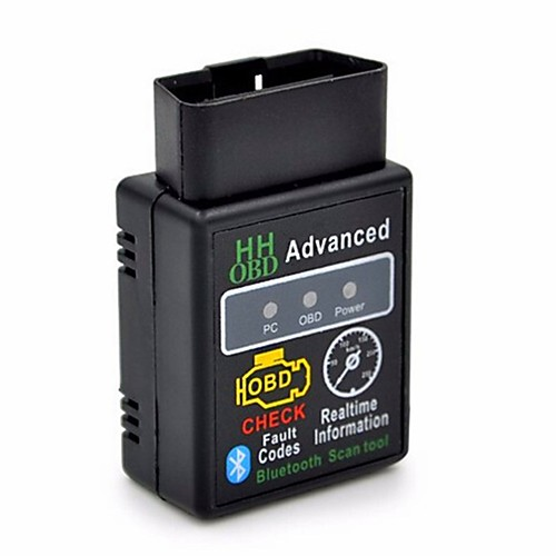 HHOBD Torque Android Bluetooth OBD2 Wireless CAN BUS Scanner Interface Adapter