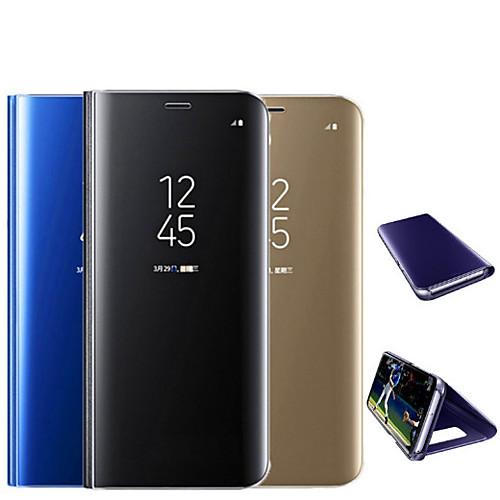 Кейс для Назначение Xiaomi Mi 8 / Mi 8 SE / Mi 6X Покрытие / Зеркальная поверхность / Флип Чехол Однотонный Твердый ПК для Xiaomi Mi Mix 2 / Xiaomi Mi Mix 2S / Xiaomi Mi 8 xiaomi