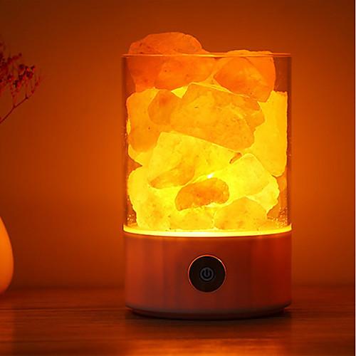 1шт LED Night Light Цветной USB Для детей / Стресс и тревога помощи / Диммируемая аксессуары для детей