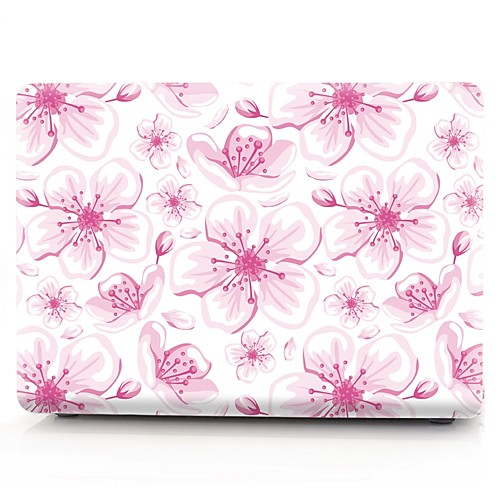 MacBook Кейс Цветы пластик для Новый MacBook Pro 15 / Новый MacBook Pro 13 / MacBook Pro, 15 дюймов hot ladies handbag for laptop 14 for macbook air pro retina 12 13 14 1 notebook lady bag women purse free drop ship84s3