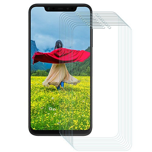 Защитная плёнка для экрана для XIAOMI Xiaomi Mi 8 Закаленное стекло 10 ед. Защитная пленка для экрана Уровень защиты 9H / Защита от царапин